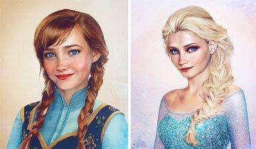 20 Chicas Disney que lucirían extremadamente hermosas si fueran aún más reales.