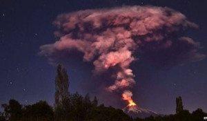 erupción del Villarrica