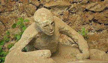 Estas figuras de piedra son en realidad momentos aterradores congelados en el tiempo.