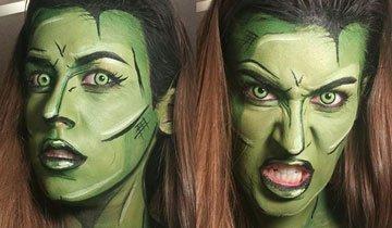 maquillaje superheroe