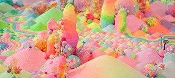 Estos mundos llenos de color y fantasía, son más dulces de lo que creías.