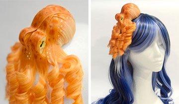 Estos fascinantes tocados de pulpos están cambiando el juego de los accesorios para el pelo.
