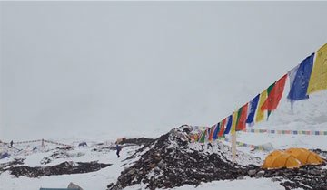 El aterrador vídeo en primera persona de la avalancha que golpeó el Everest. Impactante.