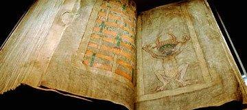 Según cuenta la leyenda, este Códice fue escrito por el mismísimo diablo.