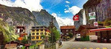 Un lugar escondido en los Alpes puede ser uno de los lugares más bellos de la Tierra.