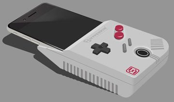 Este dispositivo convierte tu iPhone en una Game Boy, y no, no es una broma.