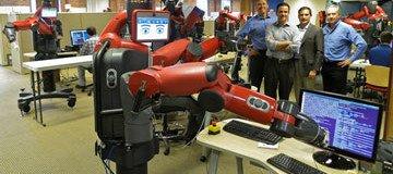 trabajos de robots