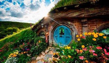 Los fans de El Señor de los Anillos deberían saber que el pueblo Hobbit se puede visitar.