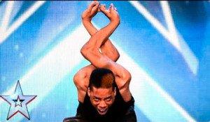 bailarín flexible