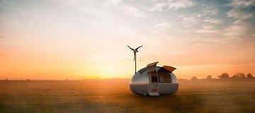 Estas Minicasas ecológicas nos permitirían vivir fuera de la red y en cualquier lugar del mundo.