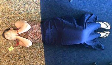 vestida como el suelo