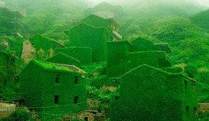 pueblo abandonado Shengsi