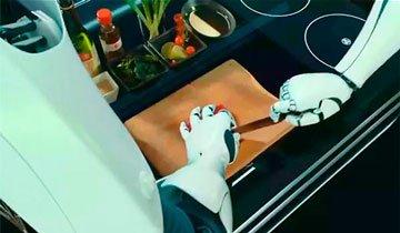 Ya puedes colgar el delantal. Este Robot podría vivir en tu casa y cocinar mejor que tú.