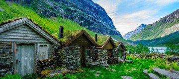 Alucina con estas 17 fotografías de ensueño sobre la fantástica arquitectura Noruega.