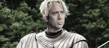 Juego de Tronos con Nicolas Cage