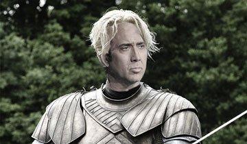 Así podrían ser los personajes de Juego de Tronos interpretados por Nicolas Cage.
