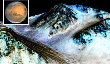 Hay evidencia de agua en Marte – y eso podría cambiar muchas cosas.