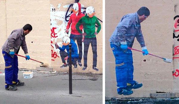 limpiador de Graffitis