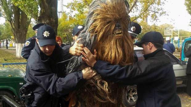 Detienen a Chewbacca