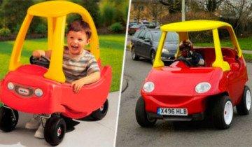 ¿Recuerdas este coche de tu niñez? Pues ahora puedes conducirlo cómo adulto.