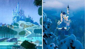 18 Lugares reales en los que se inspiraron las películas de Disney.