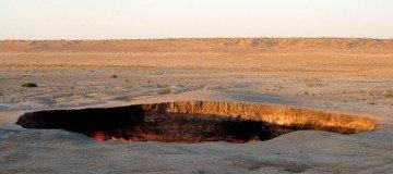 Quizá no has oído mucho sobre Turkmenistán, pero tienes que ver la Puerta al Infierno.