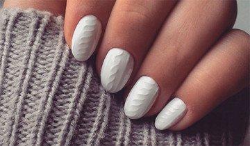Uñas Jersey: La última tendencia en manicura femenina para este invierno.