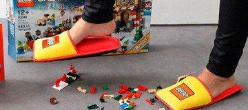 LEGO crea las zapatillas Anti-LEGO para acabar con 66 años de dolor en los pies.