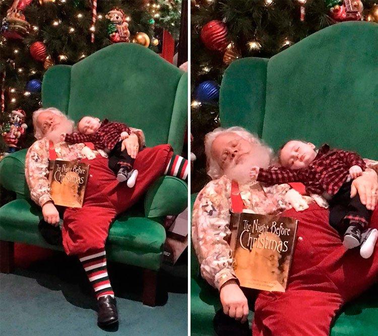 bebe-dormido-papa-noel